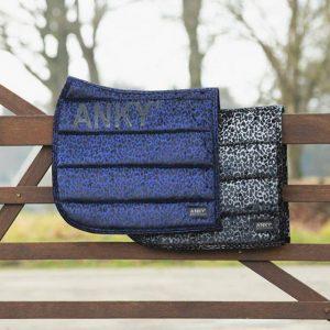 Anky Leopard Print Saddle Pad