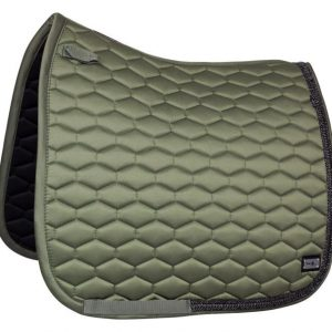 FairPLay-Hexagon-Arrow-Saddle-Pad-Olive