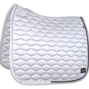 FairPLay-Hexagon-Arrow-Saddle-Pad-White