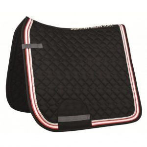 HKM Kontinent Saddle Cloth Black