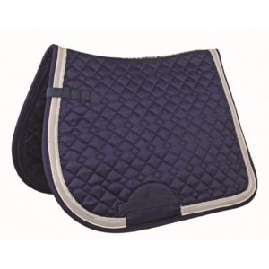 HKM Kontinent Saddle Cloth Navy