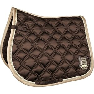 Lauria Garelli Saddle Cloth Chocolate Brown