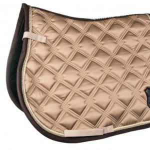 Lauria Garelli Saddle Cloth Taupe