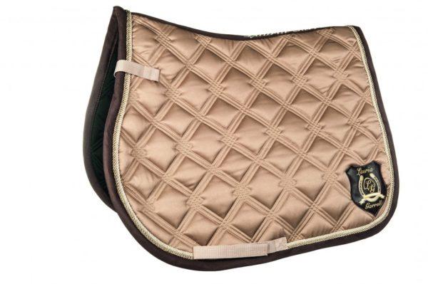 Lauria Garelli Saddle Cloth Taupe