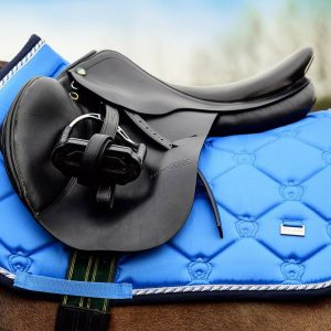 PS of Sweden Jumping Saddle Pad Blueberry2