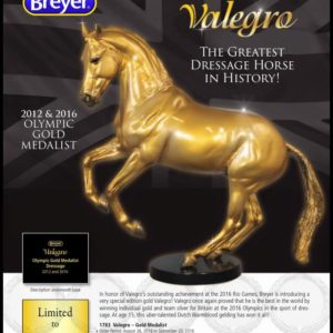 Breyer Gold Valegro