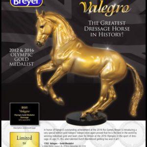 Breyer Gold Valegro
